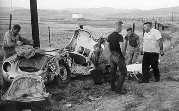 James-Dean-Crash-Scene