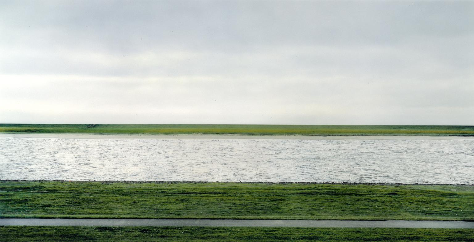 Andreas Gursky's Rhine II photograph In 2011, was auctioned for $4.3 million