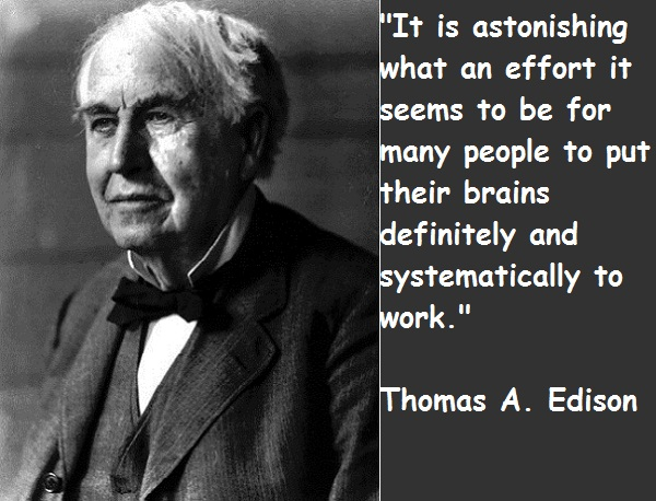 Facts-Quotes and History of Thomas Edison | Art-Sheep  Facts-Quotes an...