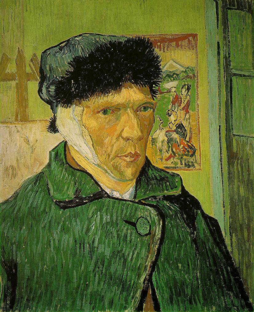 Vincent van Gogh – Self-Portrait with Bandaged Ear (1889)