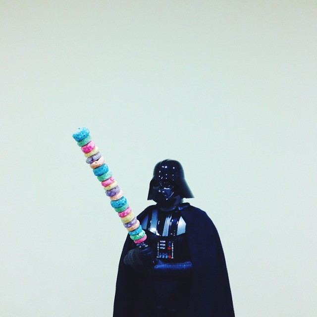 Last time I checked, I had a lightsaber, not a cerealsaber...