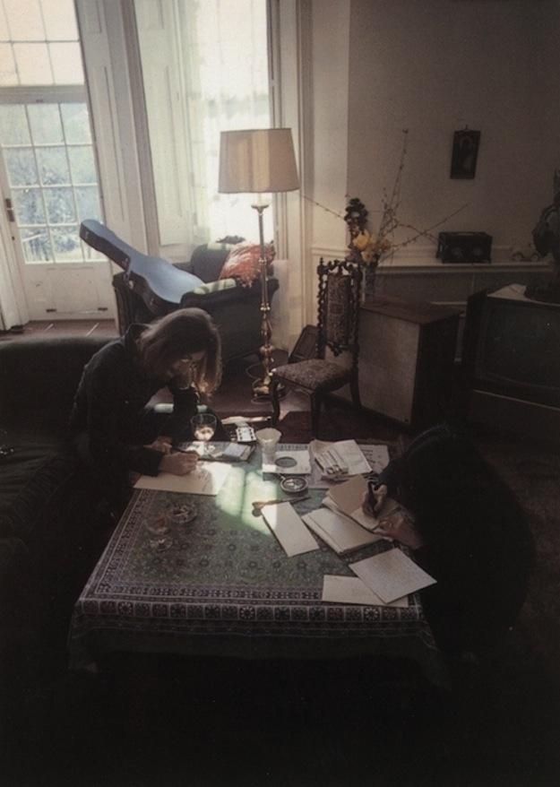 John Lennon & Yoko Ono, songwriters and artists.