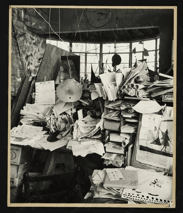 Alexander Calder, sculptor.