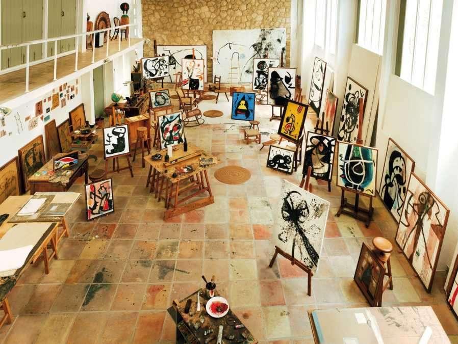 Joan Miró, artist.