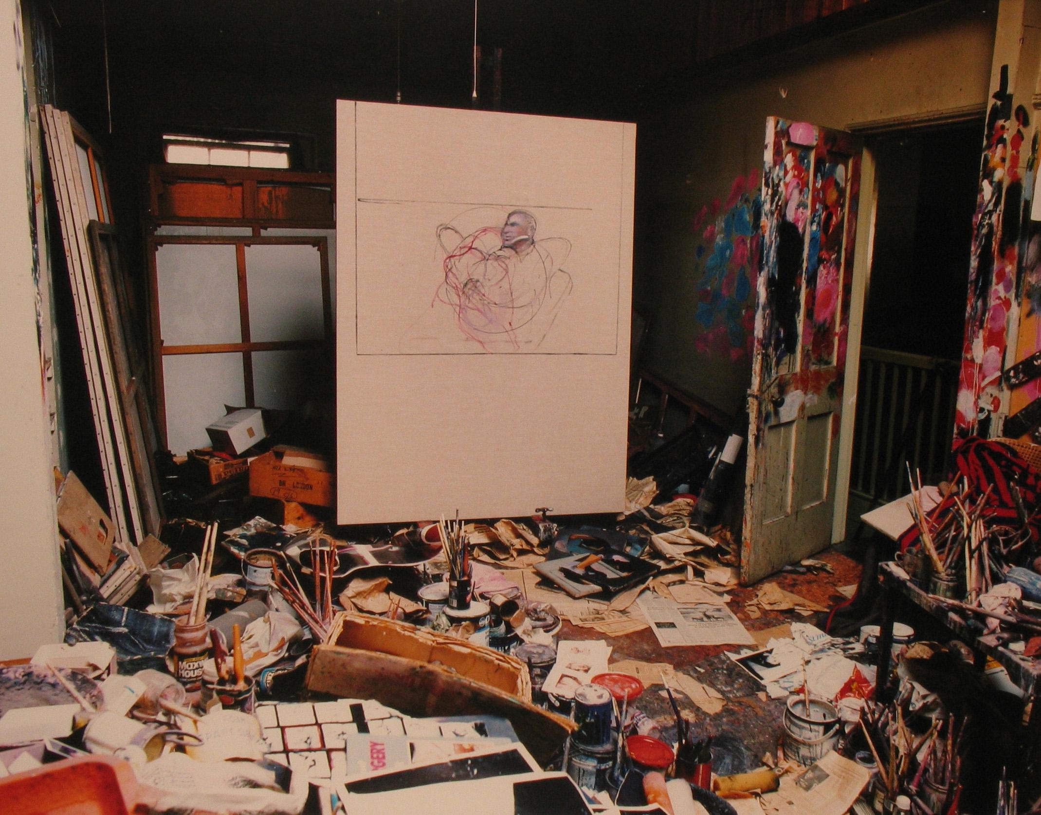 Francis Bacon, painter.