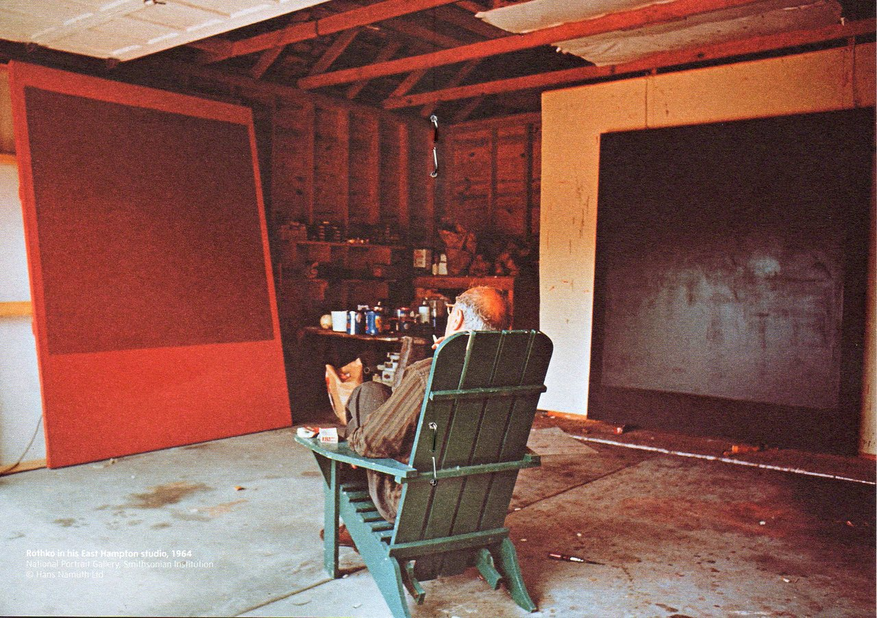 Mark Rothko, painter.