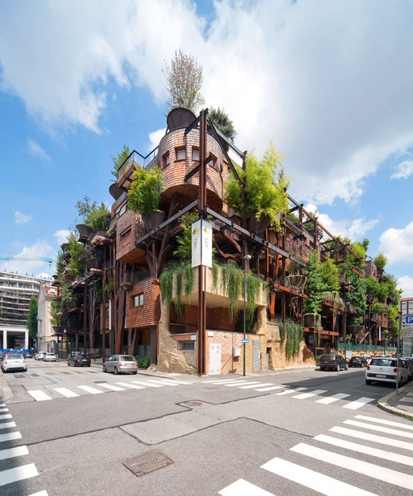 Luciano Pia S Beautiful Eco Friendly Residential Building