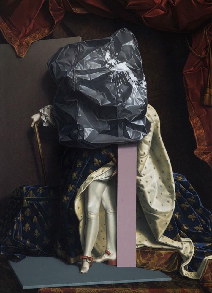 Eckart Hahn, XIV, 2011. Acrylic on canvas, 150 x 110 cm. Photo courtesy of Wagner + Partner Berlin.