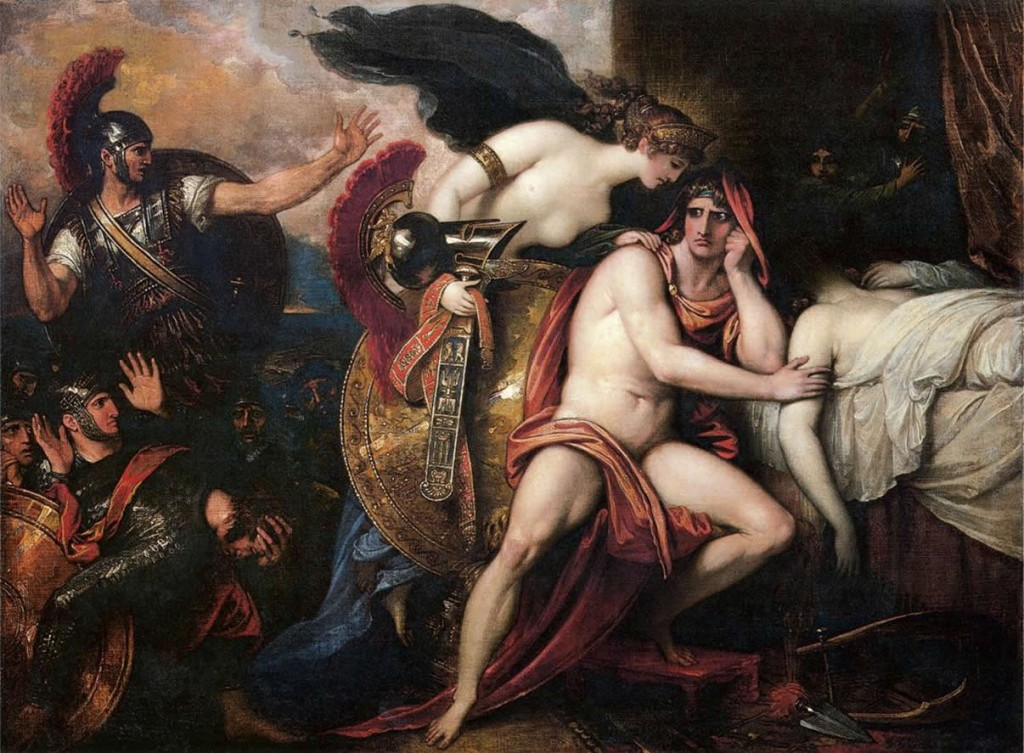 Thetis_Bringing_Armor_to_Achilles_I_by_Benjamin_West