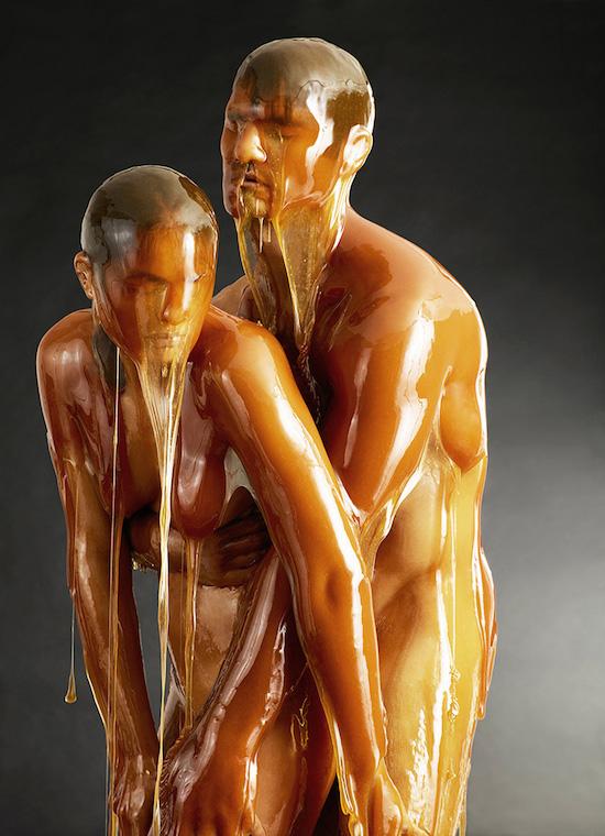blake-little-honey-covered-humans-preservation-designboom-06