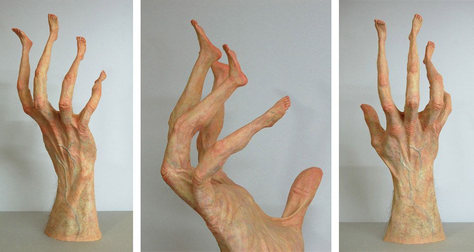 Mano In Piedi. Images courtesy the artist
