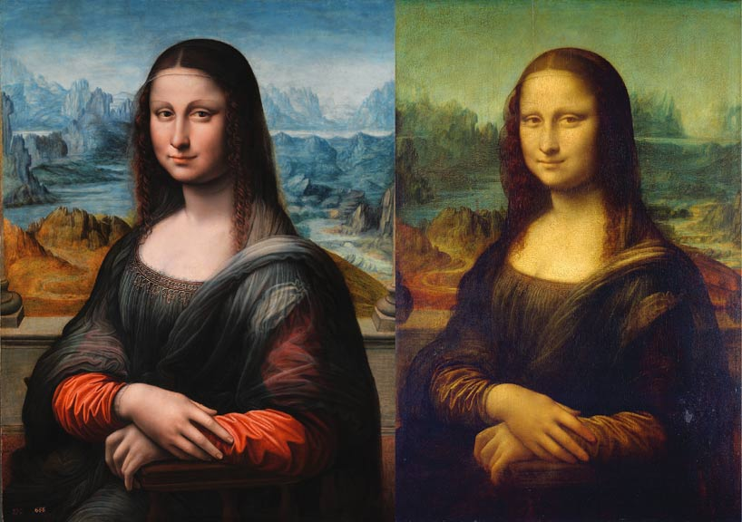 Left: Prado, Madrid - Right: Louvre, Paris