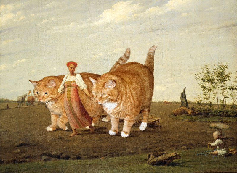 fat-cat-photoshopped-into-famous-artworks-12
