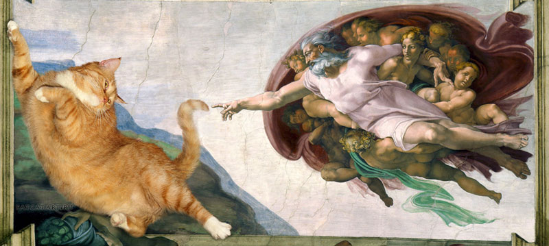 fat-cat-photoshopped-into-famous-artworks-4