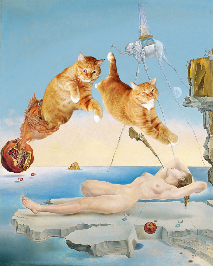 fat-cat-photoshopped-into-famous-artworks-7