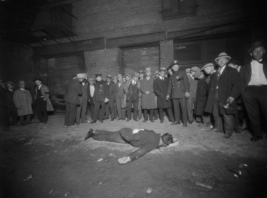 Murder of Vincenzo Argo at 35 Thompson Street in Manhattan (October 12, 1925) (courtesy New York City Municipal Archives)