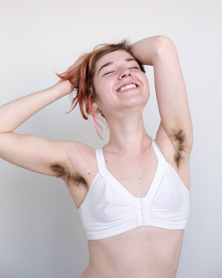 Girls with body hair