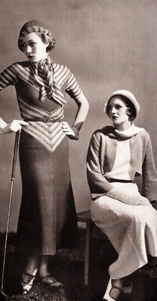 1930s fashion.