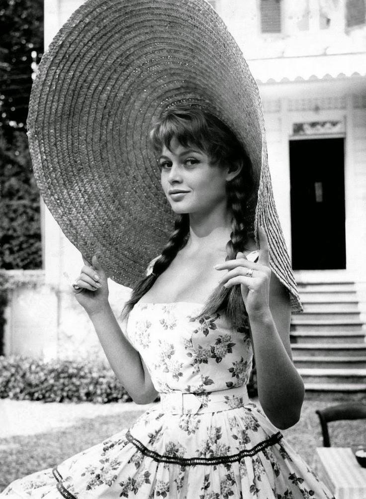Brigitte Bardot, 1950.