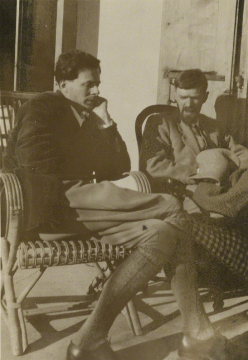 Aldous Huxley and D. H. Lawrence