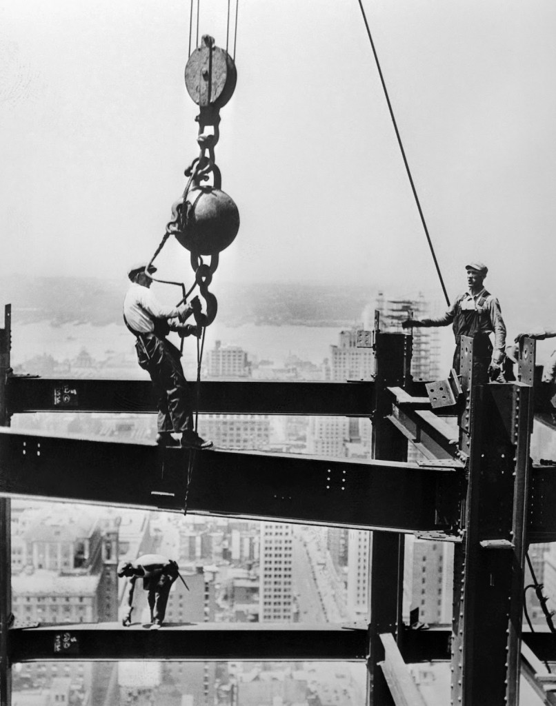 ConstructingtheEmpireStateBuilding1930s5