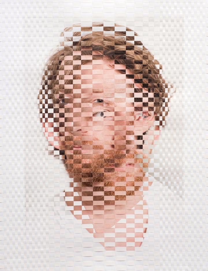 Woven Portrait by David Samuel Stern