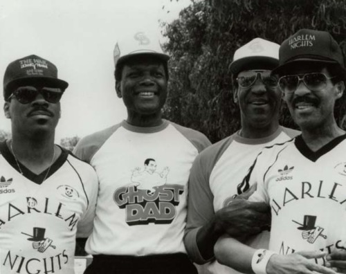 Eddie Murphy, Sidney Poitier, Bill Cosby, and Richard Pryor