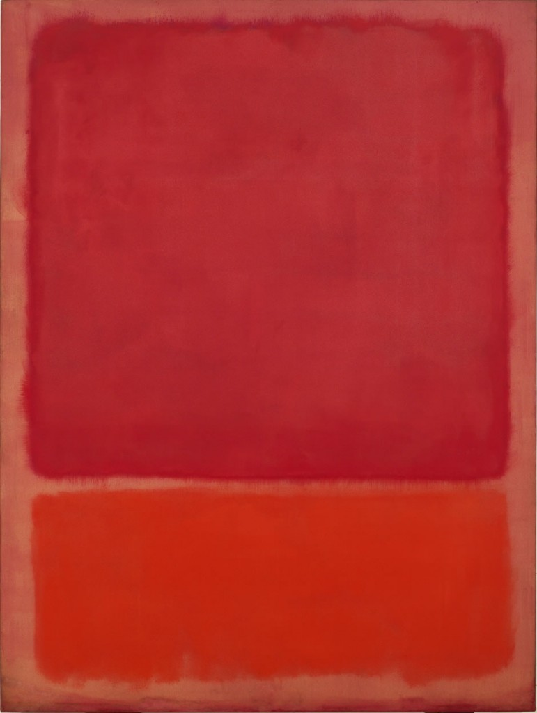 Untitled (Plum and Dark Brown), 1964