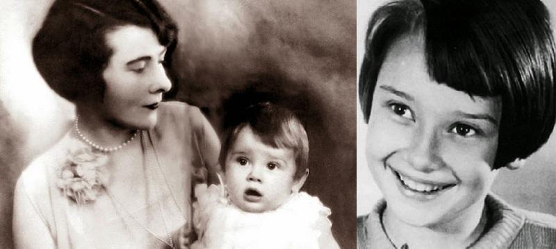 Image result for Audrey Hepburn as kid