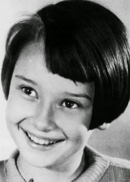 Rare Photographs From Audrey Hepburn's Childhood And
