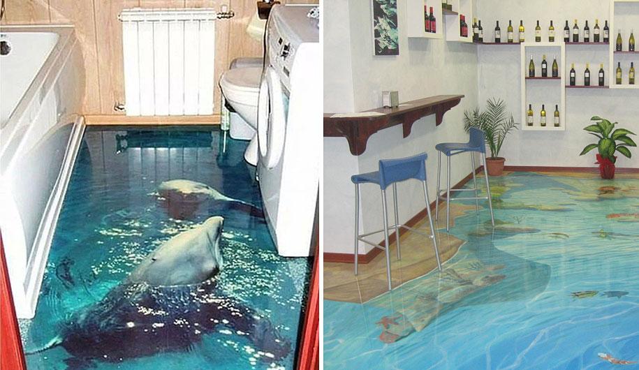 Interior Ideas 3d Epoxy Polymer Floors 99 ...