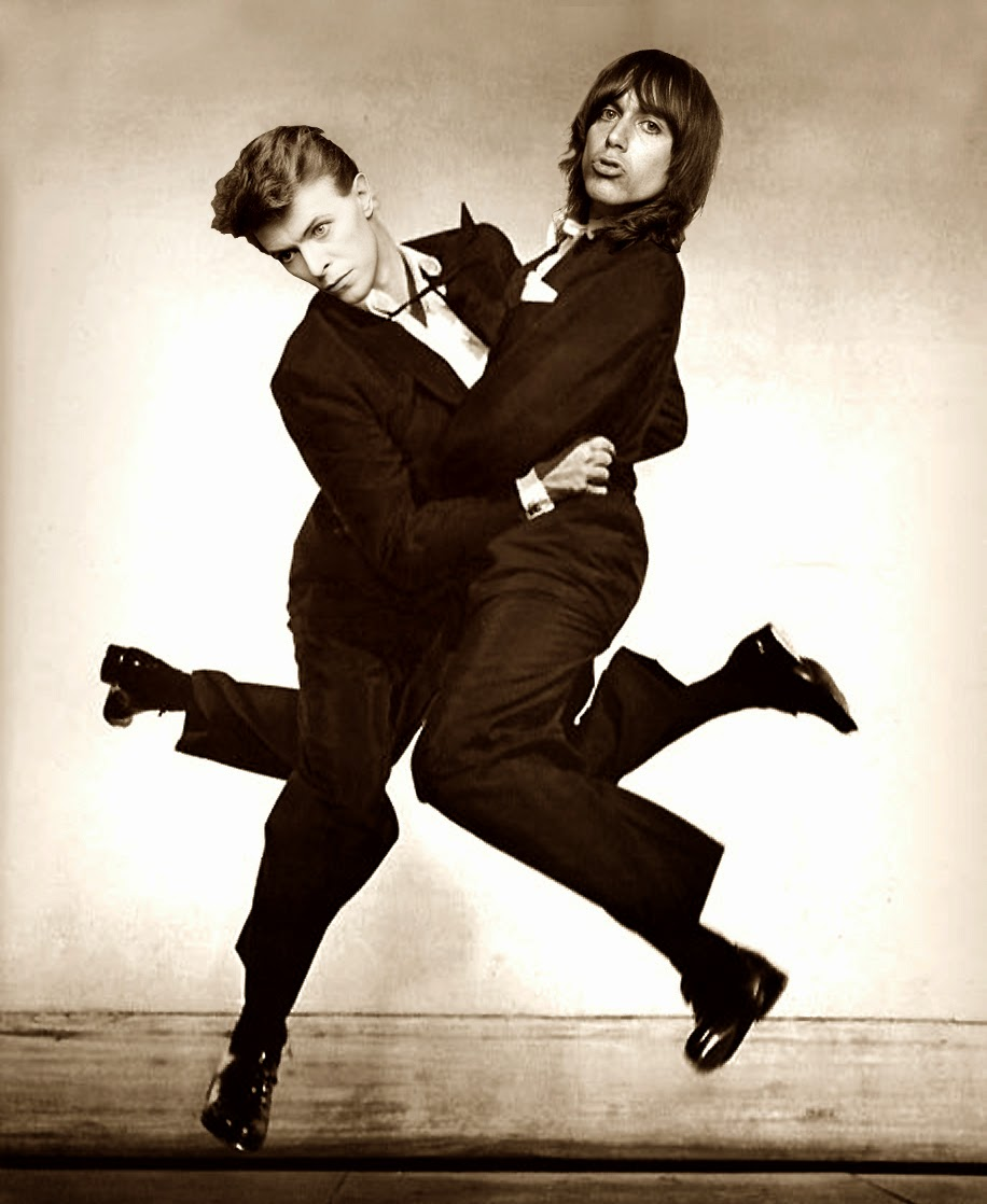 relationship between iggy pop and david bowie