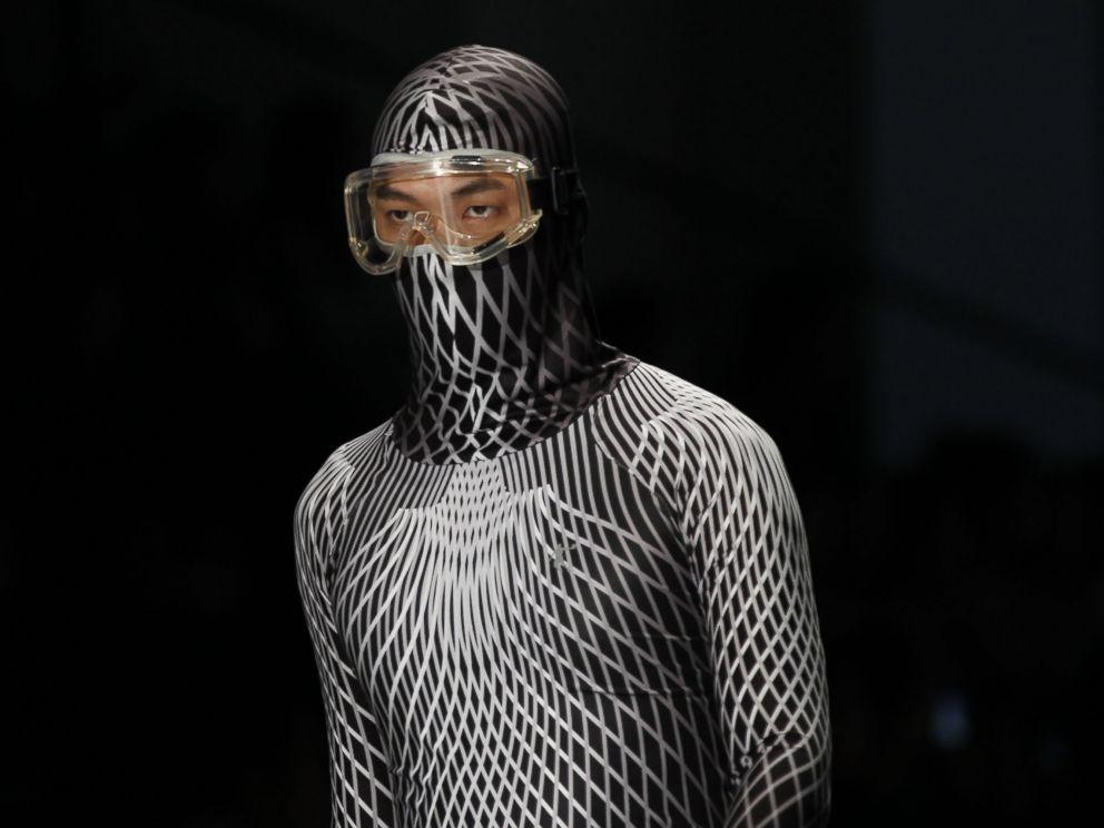GTY_fashion_show_face_masks4_ml_141104_4x3_992