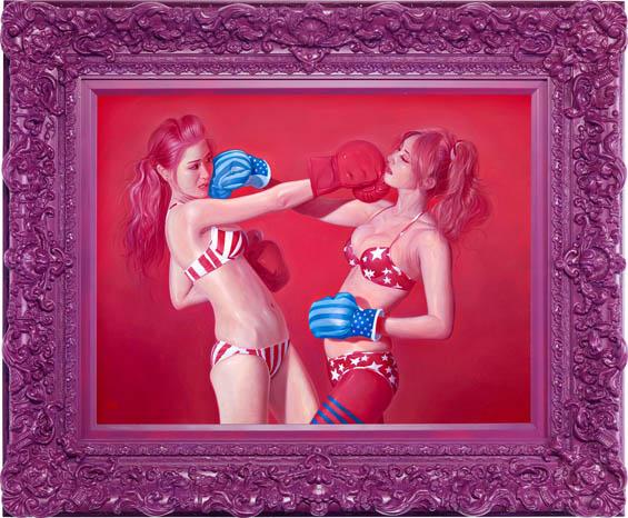 IICat-Fighters-IIoil-painting-80x601_o