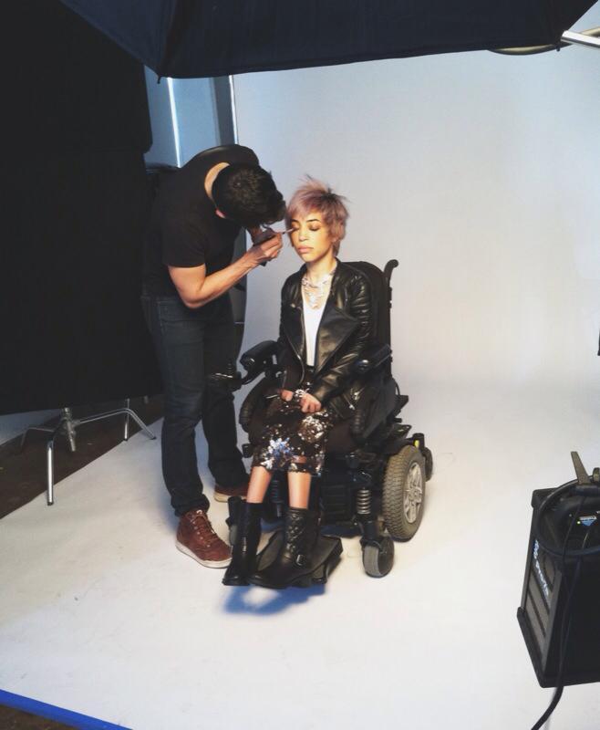 Jillian-Mercado-Nordstrom-campaign-model-in-wheelchair