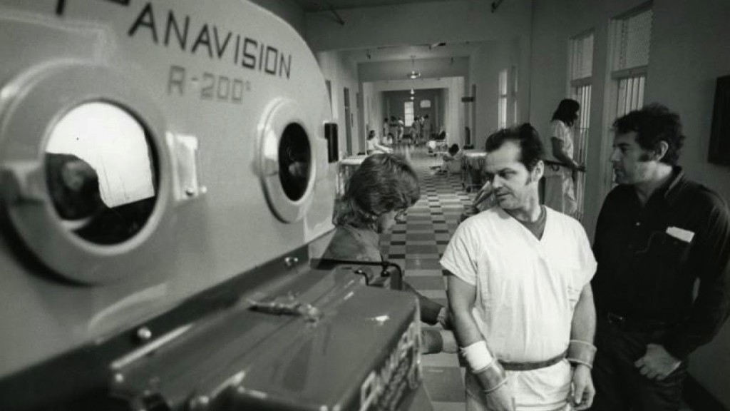 One Flew Over the Cuckoo's Nest - Behind the scenes (7)