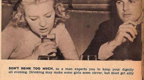 Proper dating etiquette for women