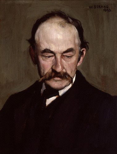 Hardy painted by William Strang, 1893