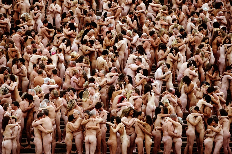 nudist day mega gang bang