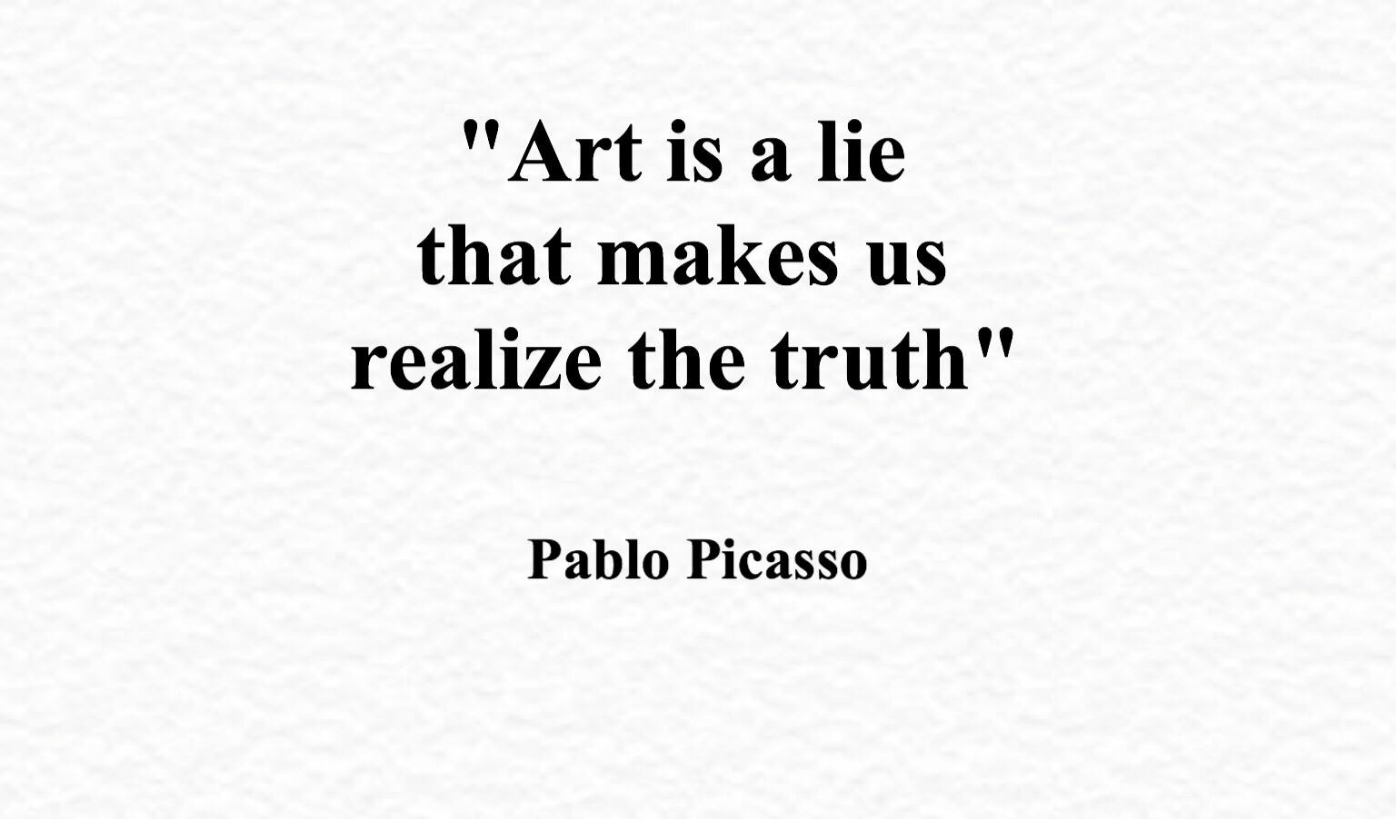 Art Quotes Tumblr 75 Quotes On Creativitypablo Picasso  Artsheep