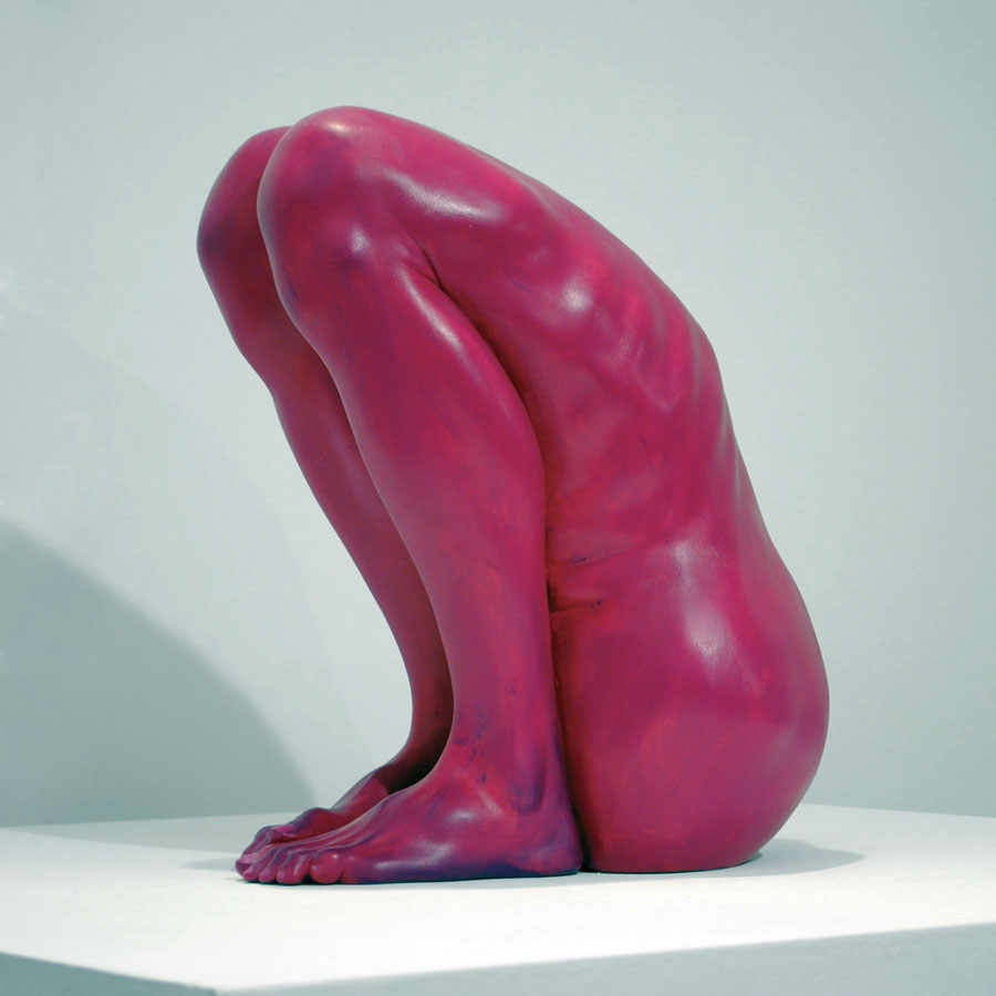Bogdan-Rata-Lonely-polyester-synthetic-resin-fibre-paint-2011-42x33x25-cm-Courtesy-Nasui-Gallery-photocredit-LC-Foundation