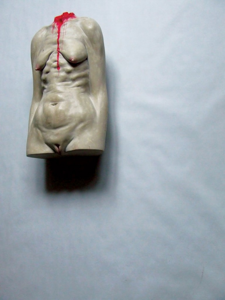 Bogdan-Rata-Plastic-Surgery-polyester-synthetic-resin-fibre-paint-metal-2010-41x22x13-cm