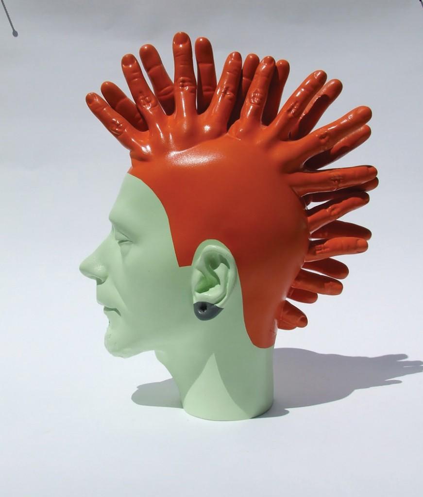 Bogdan-Rata-Punk-polyester-paint-2008-36x34x21-cm