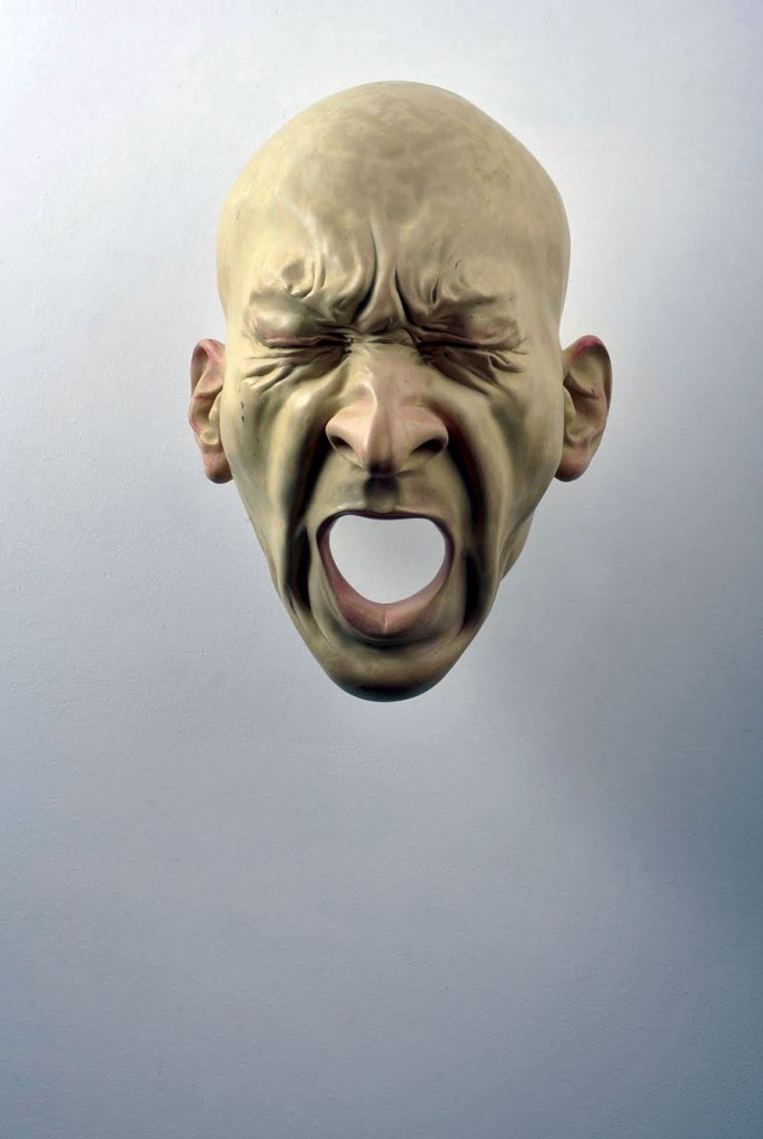 Bogdan-Rata-Scream-polyester-synthetic-resin-metal-paint-2008-57x46z34-cm-Courtesy-Slag-Gallery-photocredit-Andrei-Jecza