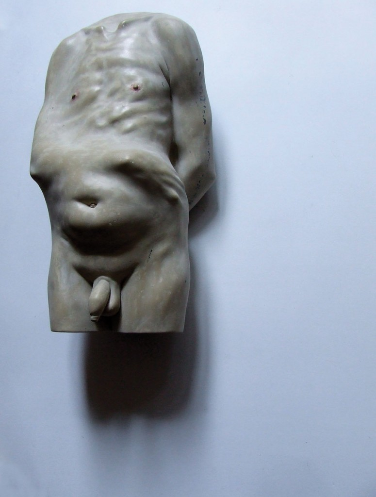 Bogdan-Rata-The-Cure-polyester-synthetic-resin-fibre-metal-paint-2010-40x28x21-cm-Artist-Collection