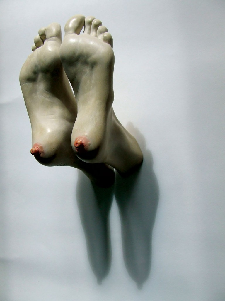 Bogdan-Rata-Tits-polyester-synthetic-resin-paint-metal-2010-28x20x15-cm-Artist-Collection