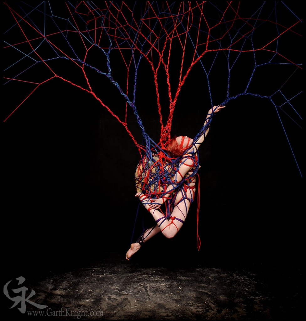 Garth Knight Turns Rope Bondage Into Art In A Series Of