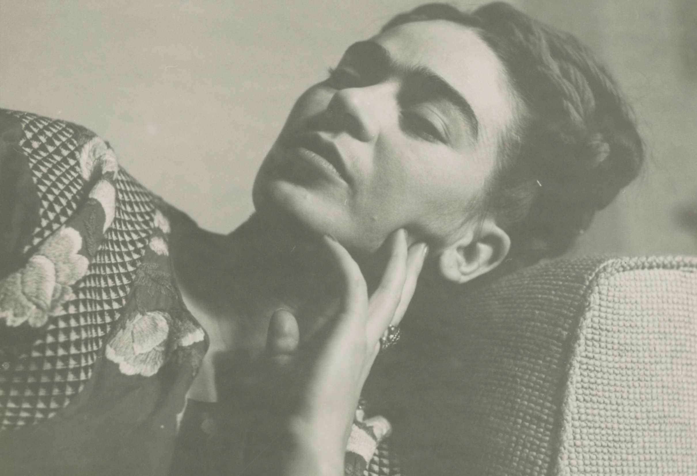 THROCKMORTON-Anonymous-image-of-FRIDA-KAHLO-RESTING-1943-gelatin-silver-print-4.5x6