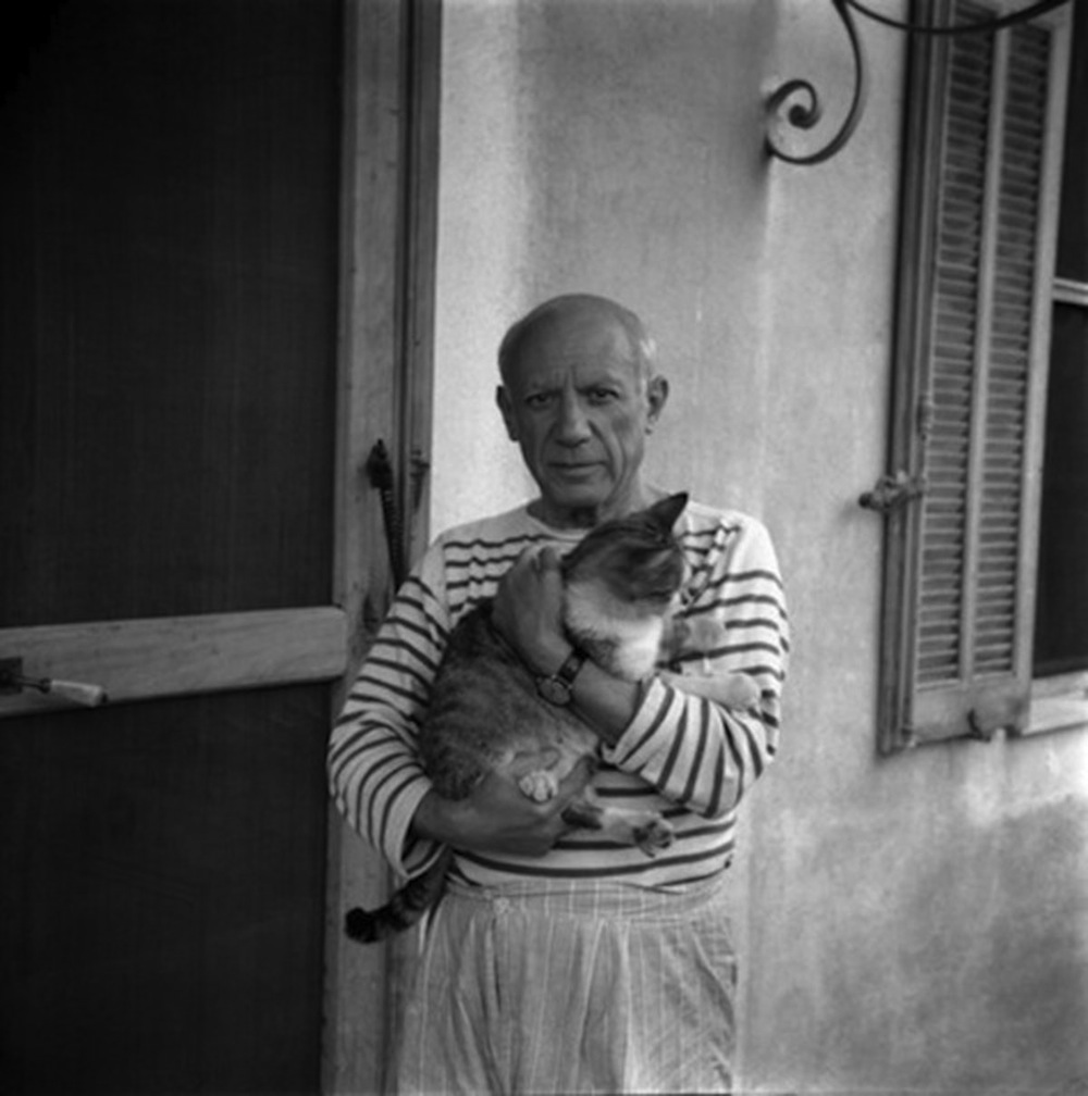Pablo Picasso / Photograph by Carlos Nadal, 1960