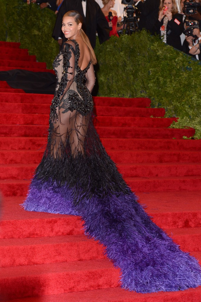 Beyonce Knowles Schiaparelli and Prada 'Impossible Conversations' Costume Institute Gala 2012 at The Metropolitan Museum of Art Featuring: Beyonce Knowles Where: New York City, United States When: 07 May 2012 Credit: WENN